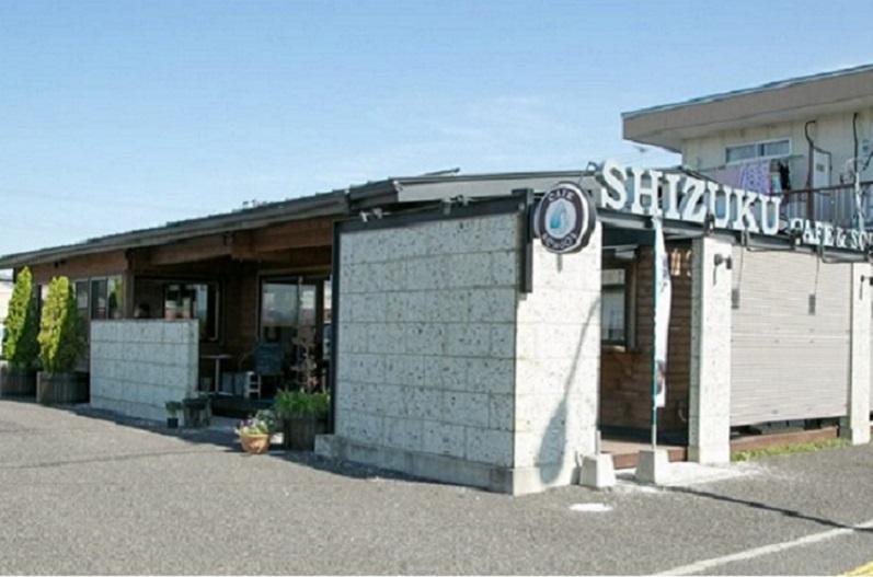 shizukuカフェ外観