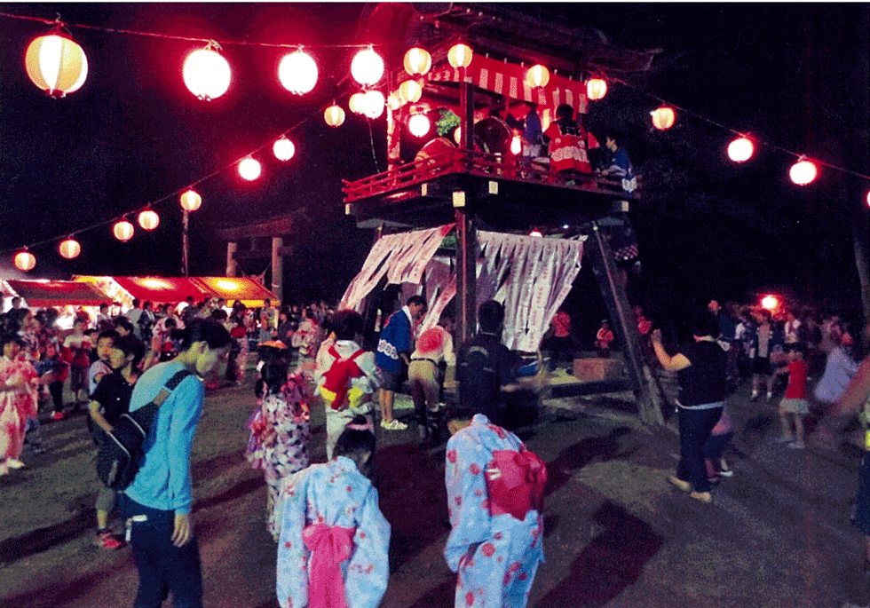 山中祭り 写真