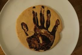 手形クッキー