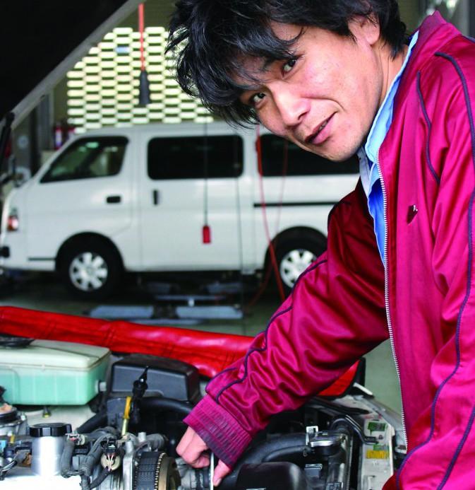 富田オートサービス若杉さん