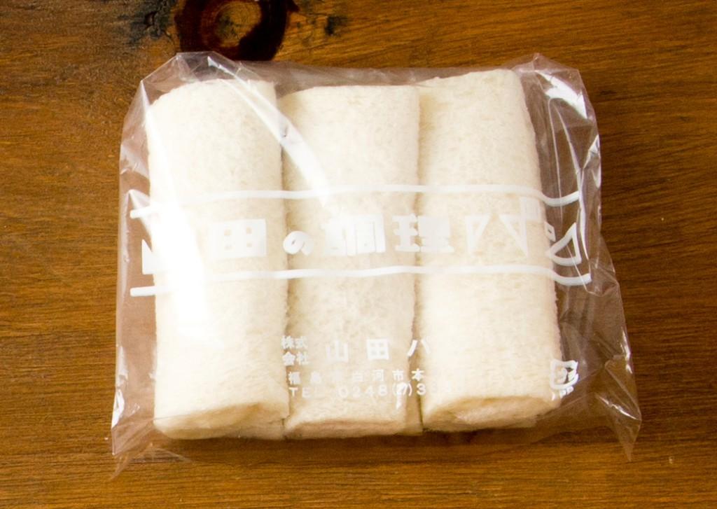 三色ロールパン