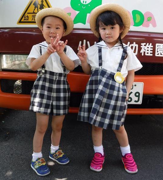 小山田幼稚園 2017制服