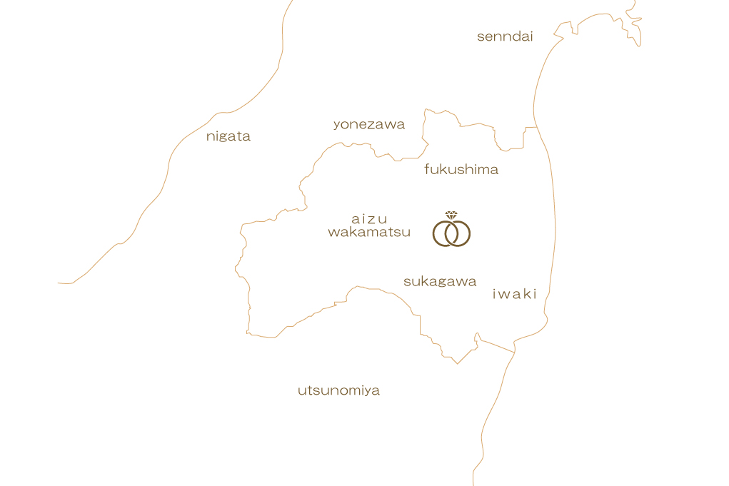 yui県地図