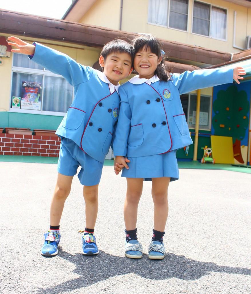 東部あさかぜ幼稚園制服