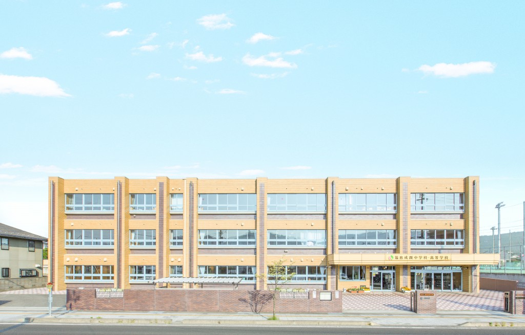 中学校校舎.