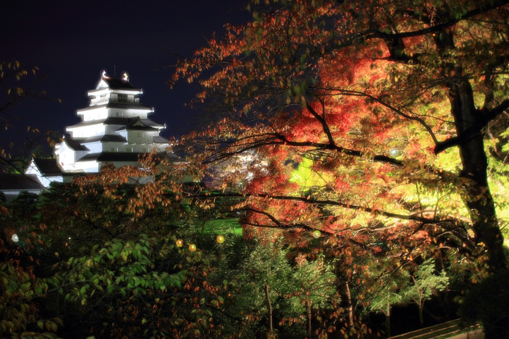 【奨励賞】秋色きらめく鶴ヶ城