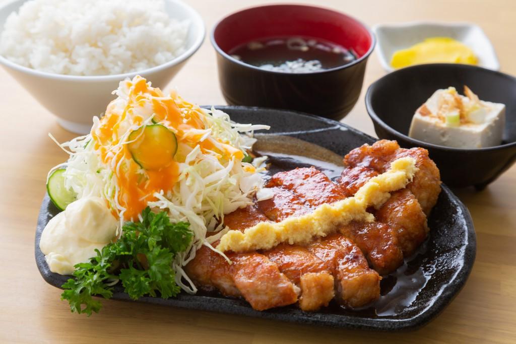 サブ生姜焼き定食