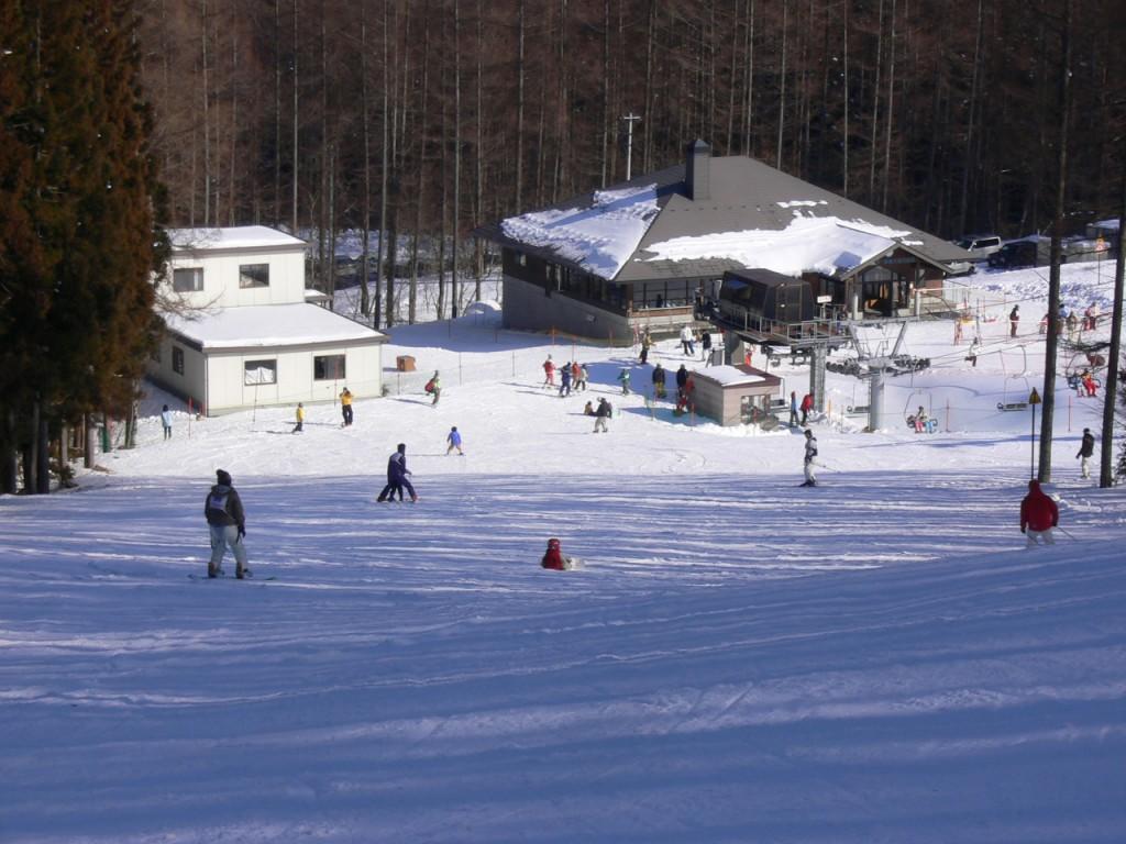 スキー場写真