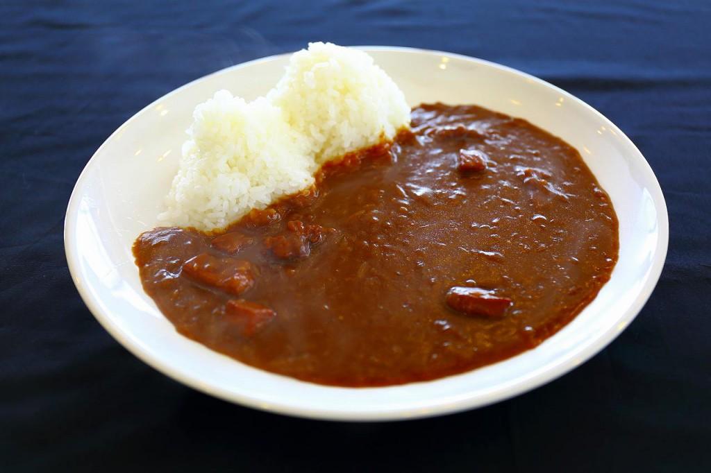 二岐山カレー