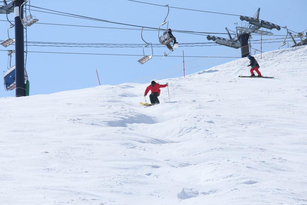 【猫魔スキー場】コブ